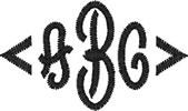 Three Letter Fancy Bracket