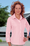 Ladies Easy Care Logo Dress Shirt
