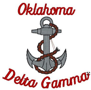 Delta Gamma White Shirt