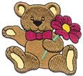 Bear w/Flower