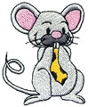 Mouse w/Tie