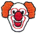 "1"" Clown Head"