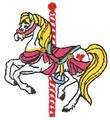 Sm. Carousel Horse