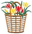 Tulips w/Basket*