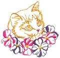 Kitten w/Dogwood*