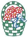 Basket w/Poinsetties*