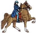 Saddlebred w/Rider