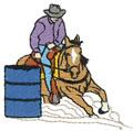 Male Barrel Racer*