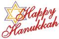 Happy Hanukkah*