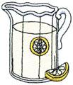 Lemonade Pitcher