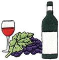 Wine w/Grapes
