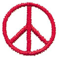 "1"" Peace Symbol*"
