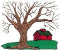 Tree w/Barn