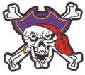 Sm. Pirate Skull