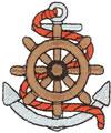 Wheel w/Anchor