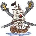 Sm. Pirate Ship Logo