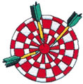 Dart Board w/Darts