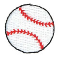 "1"" Baseball"