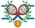 Tennis Crest