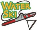 Water Ski Logo