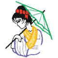 Girl w/Umbrella*
