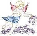 Angel w/Roses*