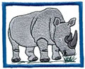 White Rhinoceros*