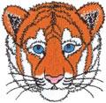 Tiger Cub Head