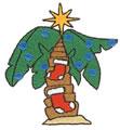 Christmas Palm Tree*